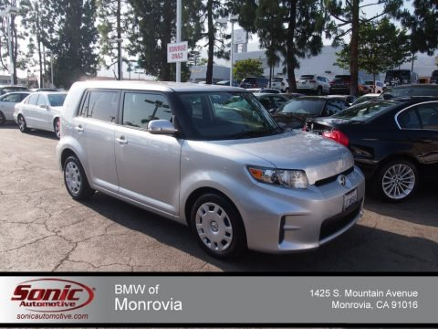 Classic Silver Metallic 2011 Scion xB 