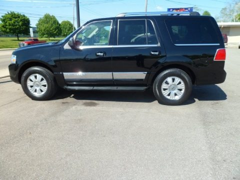Black 2008 Lincoln Navigator Luxury 4x4
