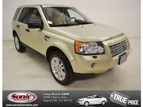 Nazca Sand Metallic 2008 Land Rover LR2 SE