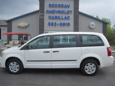Stone White 2010 Dodge Grand Caravan C/V