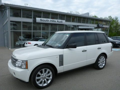Chawton White 2007 Land Rover Range Rover Supercharged