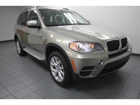 Platinum Bronze Metallic 2011 BMW X5 xDrive 35i
