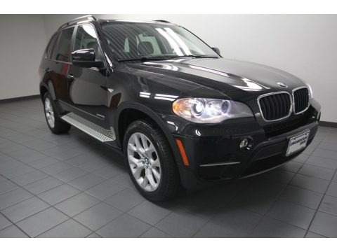 Black Sapphire Metallic 2013 BMW X5 xDrive 35i Premium