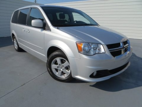 Bright Silver Metallic 2012 Dodge Grand Caravan Crew