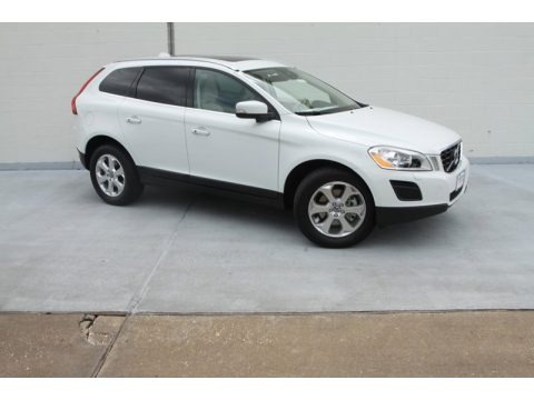 Ice White 2013 Volvo XC60 3.2