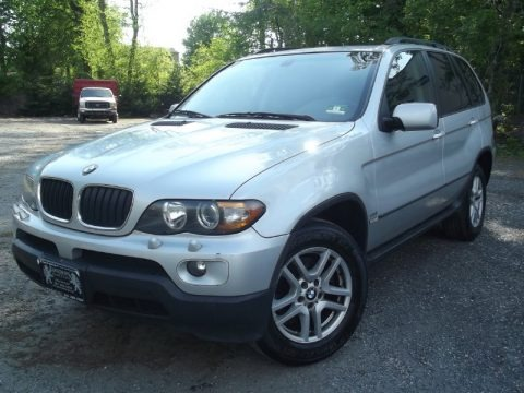 Titanium Silver Metallic 2006 BMW X5 3.0i