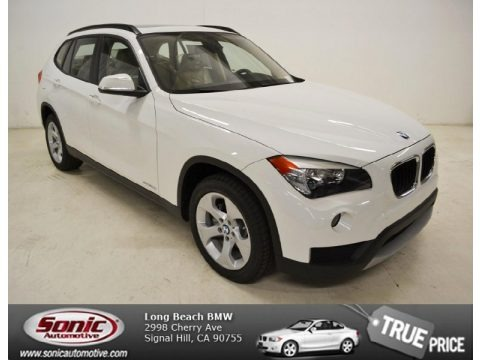 Alpine White 2014 BMW X1 sDrive28i