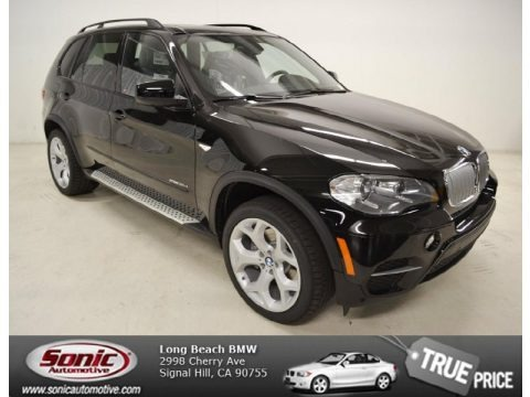 Jet Black 2013 BMW X5 xDrive 35d