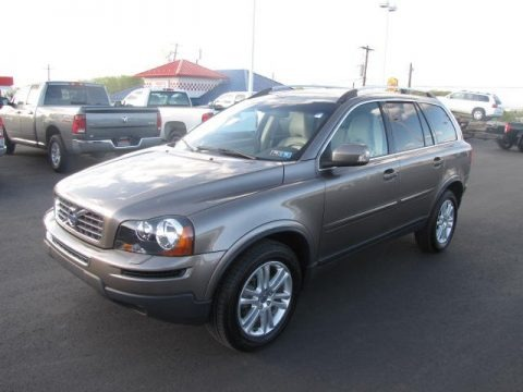Oyster Grey Metallic 2011 Volvo XC90 3.2 AWD