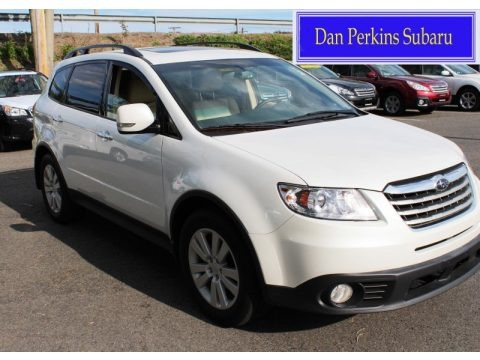 Satin White Pearl 2012 Subaru Tribeca 3.6R Limited