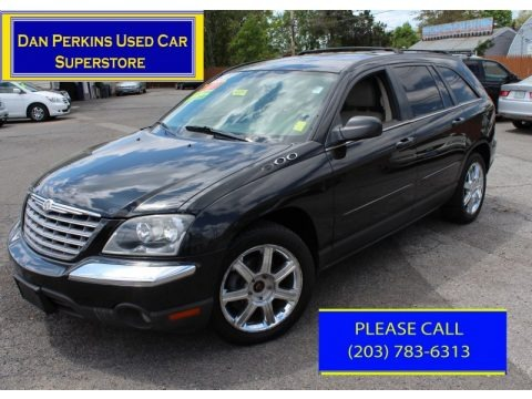 Brilliant Black 2005 Chrysler Pacifica Touring AWD