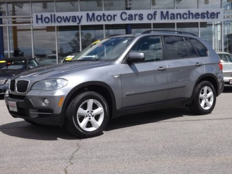 Space Grey Metallic 2009 BMW X5 xDrive30i