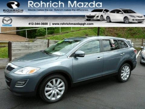 Dolphin Gray Mica 2010 Mazda CX-9 Grand Touring AWD