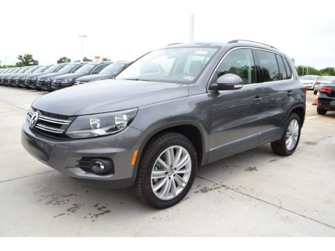 Pepper Gray Metallic 2013 Volkswagen Tiguan SE
