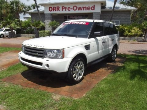 Alaska White 2009 Land Rover Range Rover Sport HSE
