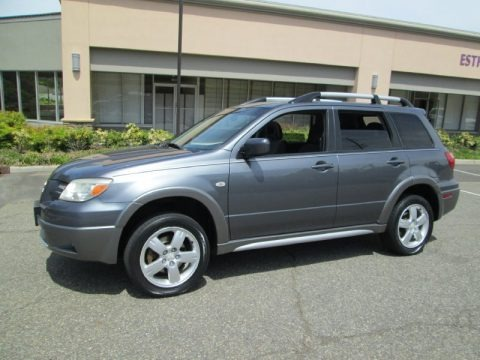Graphite Gray 2005 Mitsubishi Outlander XLS AWD