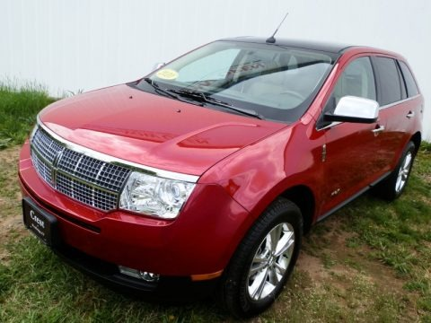 Red Candy Metallic 2010 Lincoln MKX AWD
