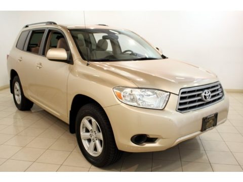 Sandy Beach Metallic 2008 Toyota Highlander