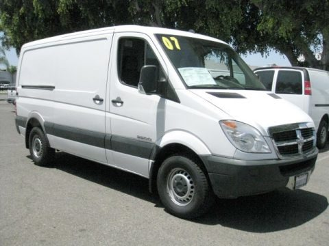 Arctic White 2007 Dodge Sprinter Van 2500 Cargo