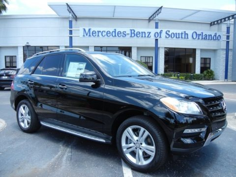 Black 2013 Mercedes-Benz ML 350 4Matic