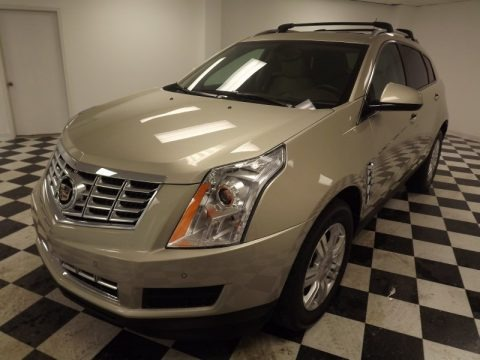 Silver Coast Metallic 2013 Cadillac SRX Luxury FWD