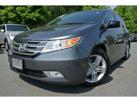 Polished Metal Metallic 2011 Honda Odyssey Touring