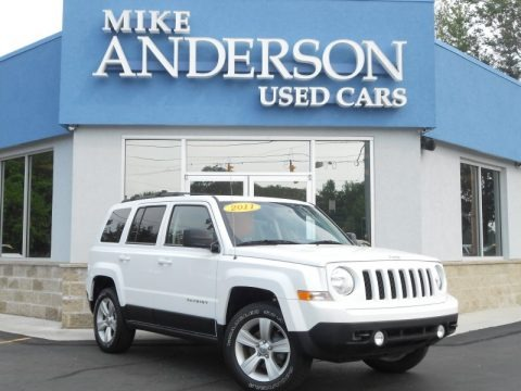 Bright White 2011 Jeep Patriot Latitude 4x4
