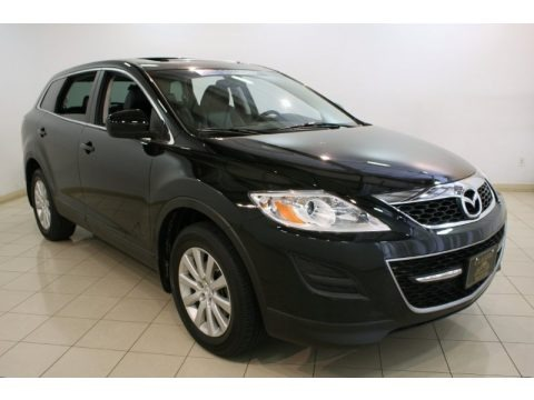 Brilliant Black 2010 Mazda CX-9 Touring AWD