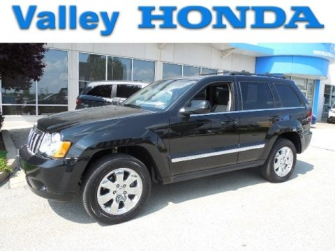 Black 2008 Jeep Grand Cherokee Limited 4x4
