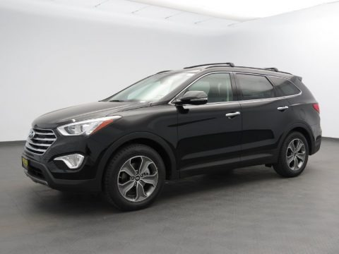 Becketts Black 2013 Hyundai Santa Fe GLS