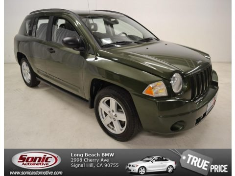 Jeep Green Metallic 2009 Jeep Compass Sport