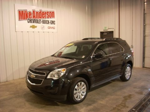 Black Granite Metallic 2011 Chevrolet Equinox LT