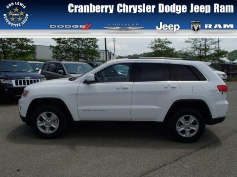 Bright White 2014 Jeep Grand Cherokee Laredo 4x4