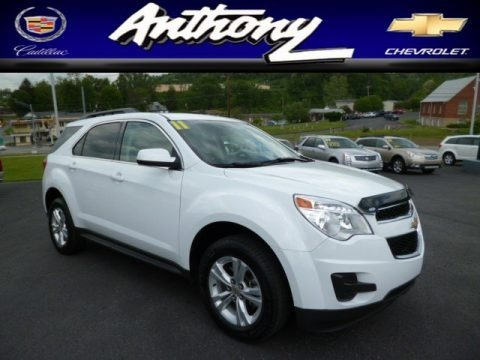 Summit White 2011 Chevrolet Equinox LT AWD