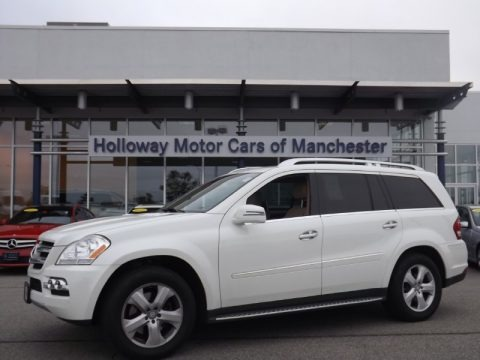 Arctic White 2011 Mercedes-Benz GL 450 4Matic