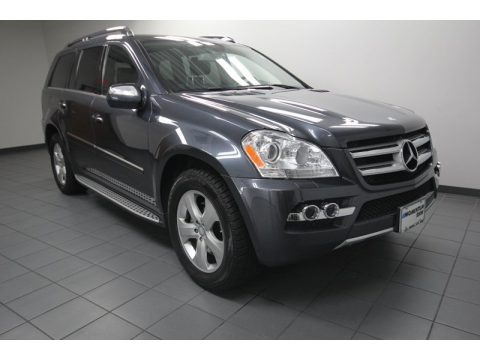 Steel Grey Metallic 2010 Mercedes-Benz GL 450 4Matic