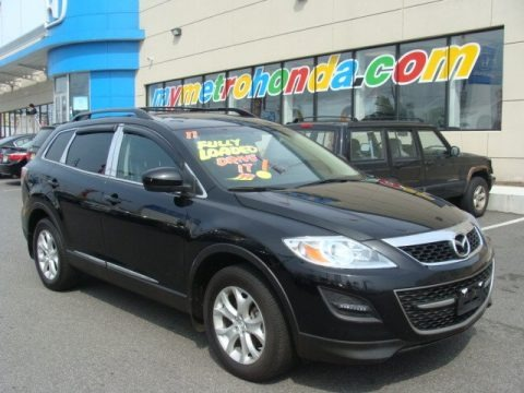 Brilliant Black 2011 Mazda CX-9 Touring AWD