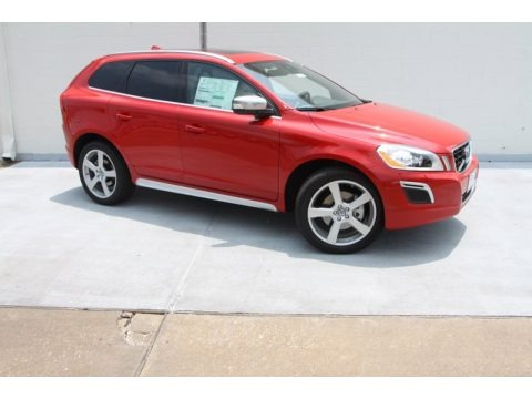 Passion Red 2013 Volvo XC60 T6 AWD R-Design