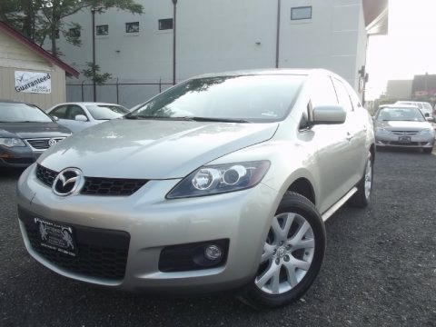 True Silver Metallic 2007 Mazda CX-7 Sport