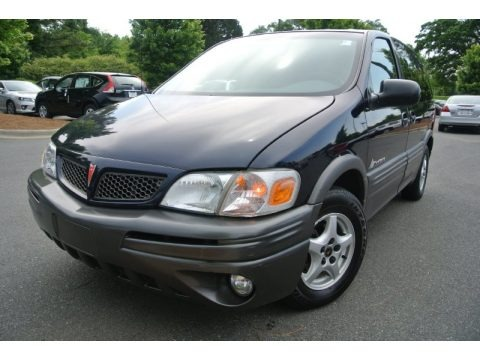 Blue Black Metallic 2003 Pontiac Montana