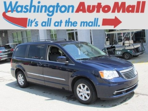 True Blue Pearl 2012 Chrysler Town & Country Touring