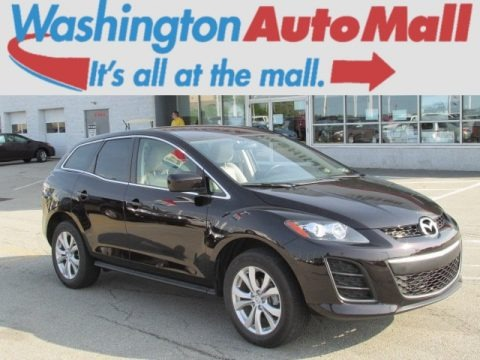 Black Cherry Mica 2011 Mazda CX-7 s Touring AWD