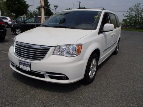 Stone White 2012 Chrysler Town & Country Touring