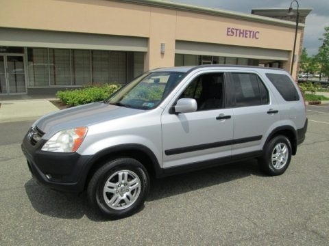 Satin Silver Metallic 2004 Honda CR-V EX 4WD