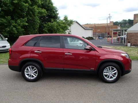 Dark Cherry 2014 Kia Sorento LX AWD