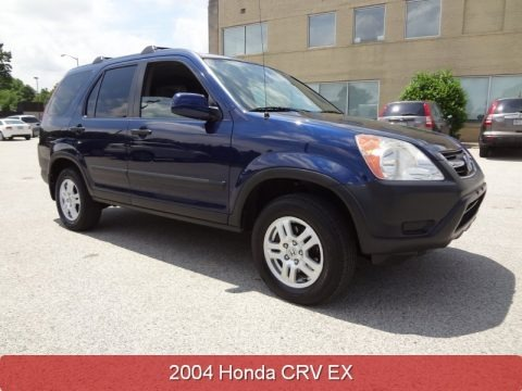 Eternal Blue Pearl 2004 Honda CR-V EX 4WD