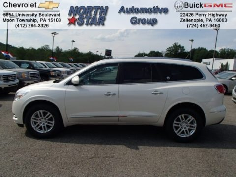 White Diamond Tricoat 2013 Buick Enclave Convenience AWD