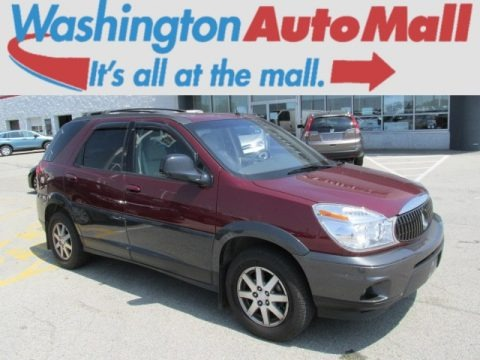 Medium Red Metallic 2004 Buick Rendezvous CX