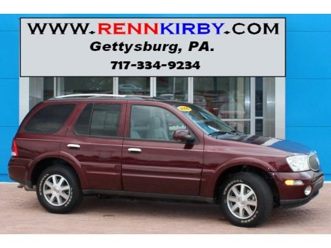 Dark Garnet Red Metallic 2006 Buick Rainier CXL AWD