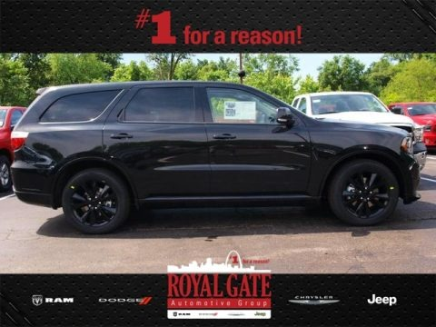 Brilliant Black Crystal Pearl 2013 Dodge Durango R/T AWD